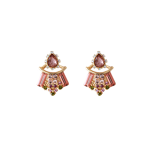 Princess B. Earrings [Champagne]
