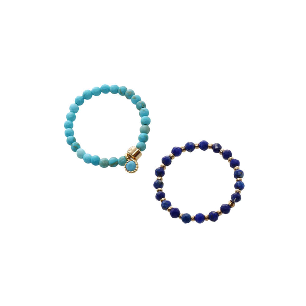 Gemstone Mini Ring Set