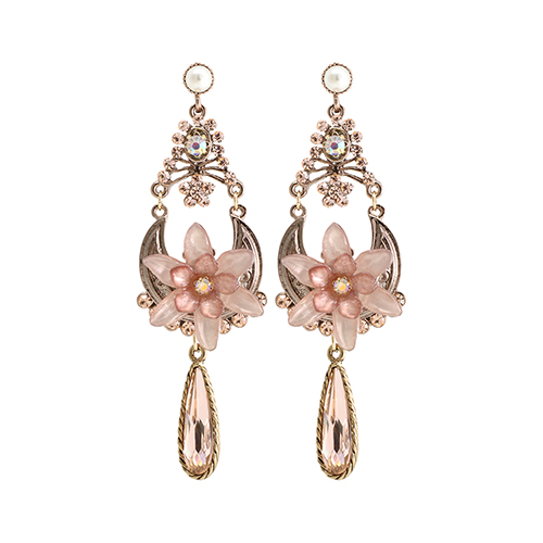 Indipink Garland Drop Earrings