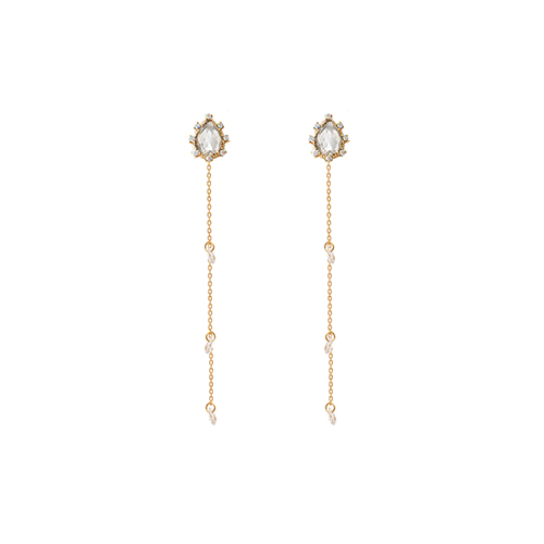 Crystal Weeping Princess Earrings