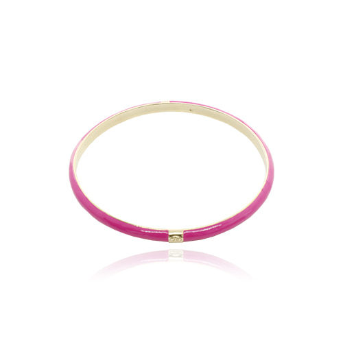 Hotpink Glossy Color Bangle