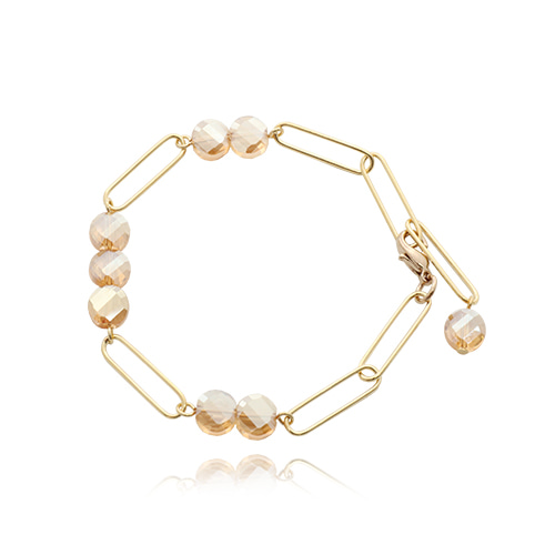 Champagne Gold Chain Bracelet