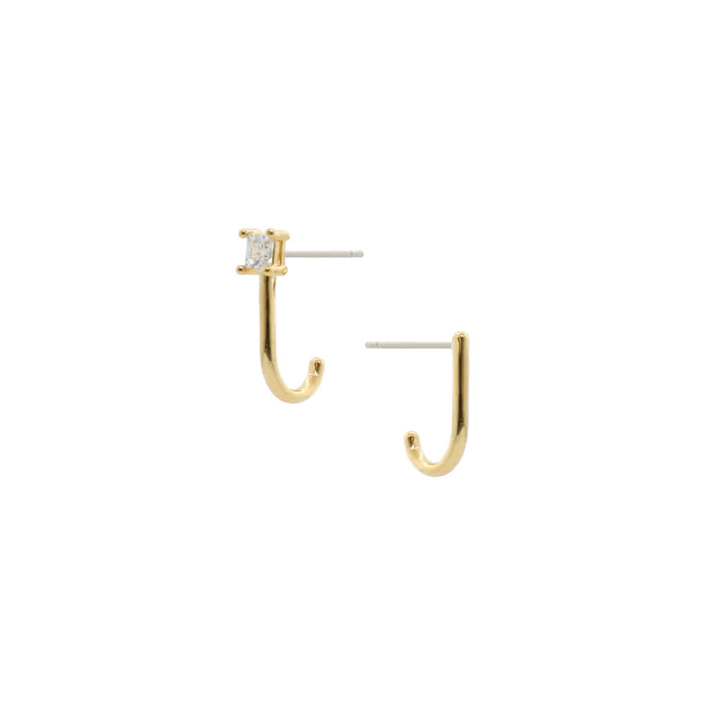 Ear Cuffs Unbalanced Post Earrings