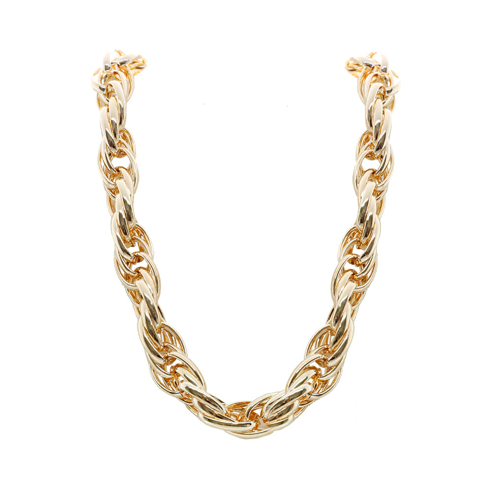 Gold Large Chain Necklace
