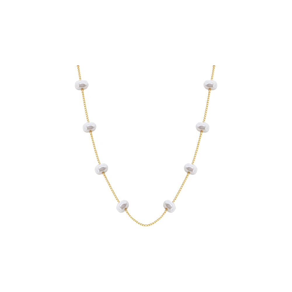 Mini Pearl Choker Necklace