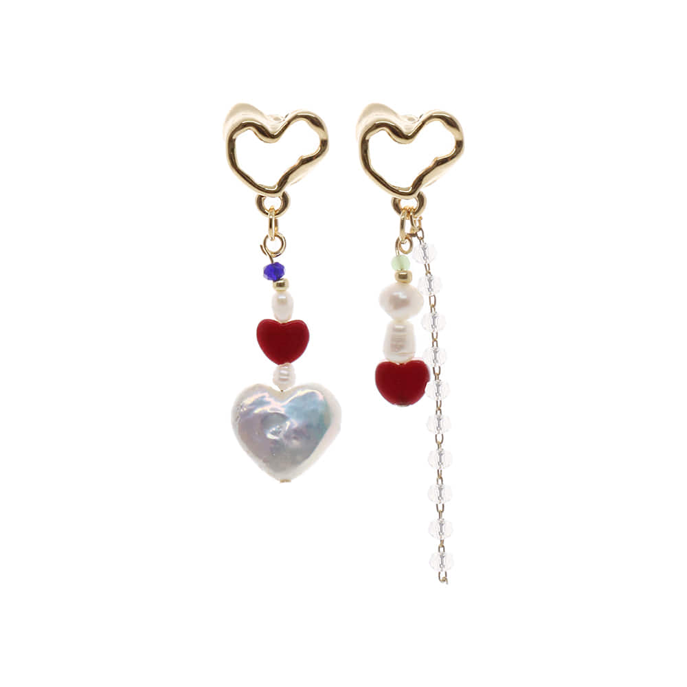 Love You Drop Earrings