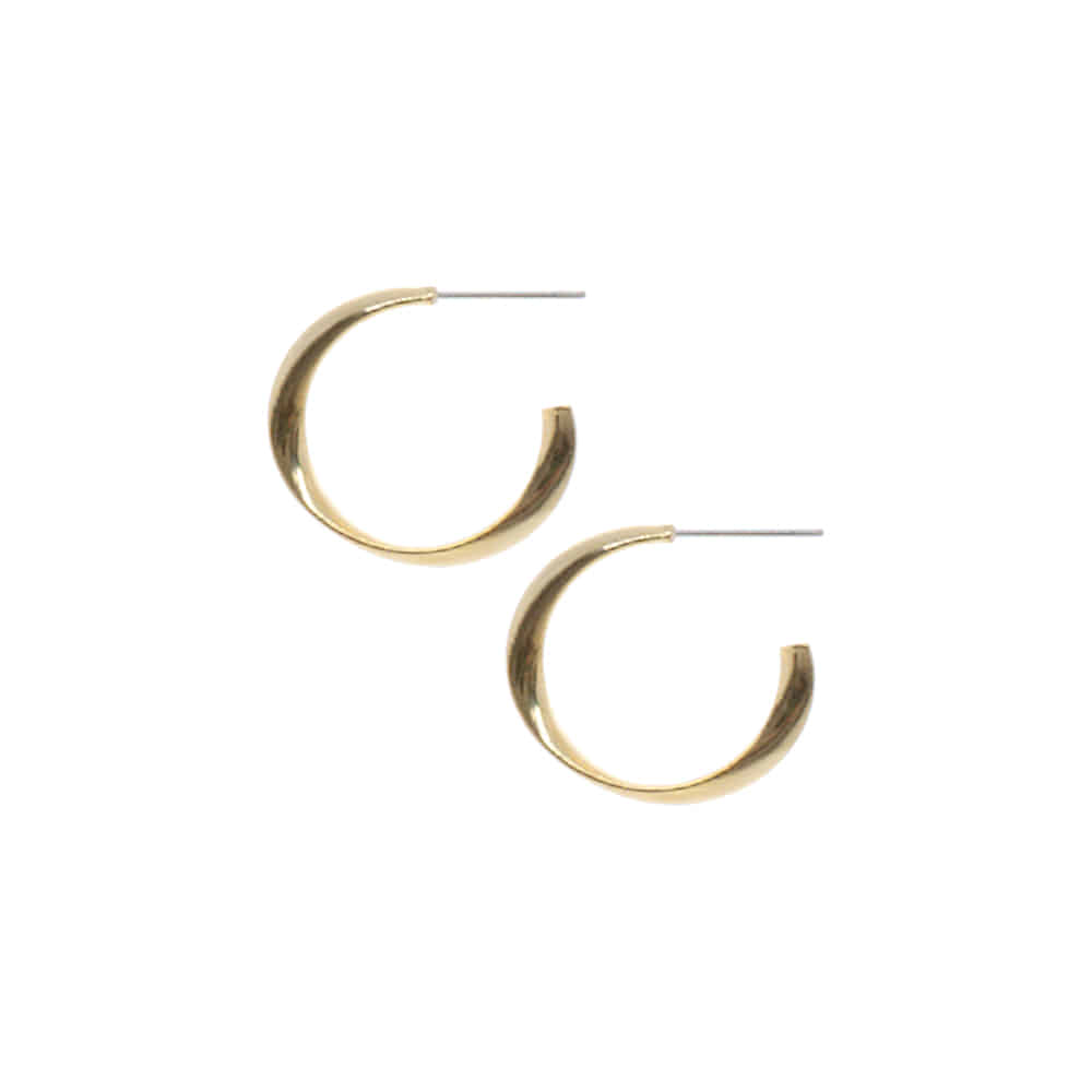 Slim Circle Ring Earrings