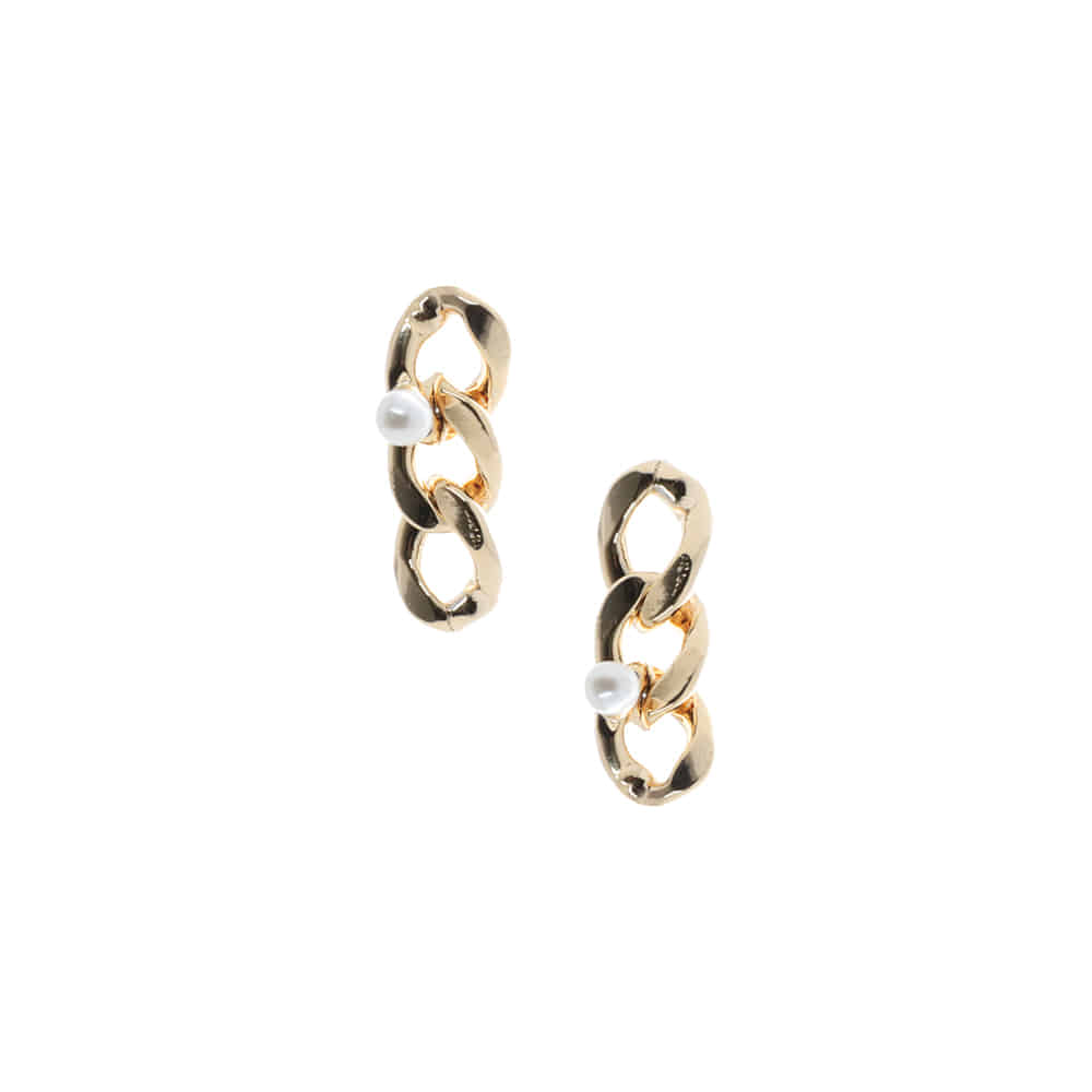Mini Chain Drop Earrings